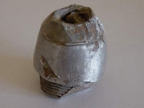 Small German Relic fuse head.