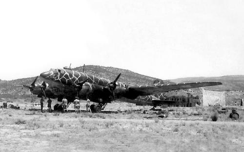 LUFTWAFFE   RELICS in the fields of Rhodes