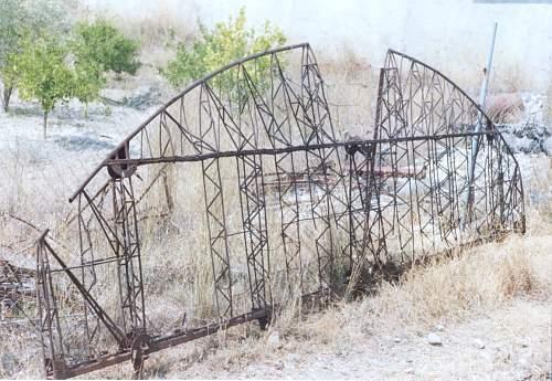 SAVOIA  MARCHETTI   SM 79  SPARVIERO  Relics Findings