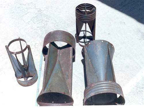 Click image for larger version.  Name:Recovered Italian bomb fins.jpg Views:3 Size:68.3 KB ID:477932