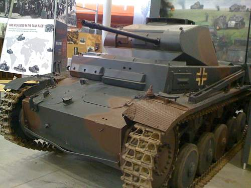 A  PzKpfw I TURRET  on a Panzerstellung
