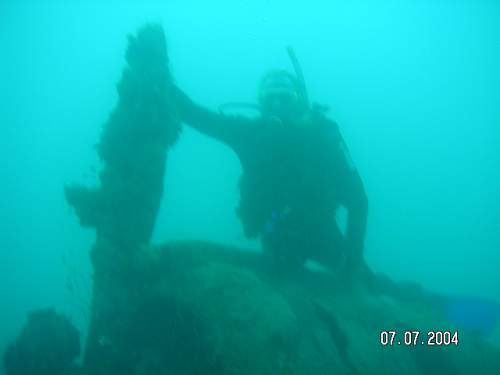 Any other wreck and relic scuba divers out there ??