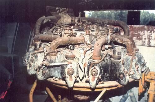 Relics of a HENSCHEL Hs 126 in Greece