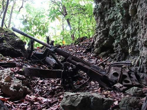 7 - Japanese 37 mm gun in cave, DSC01174.jpg