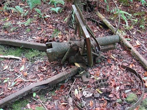 7 - Japanese 75mm Mountain howizter   in the Horseshoe DSC01599.jpg