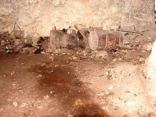 14 - Japanese Detritus in hospital cave - C01106.jpg