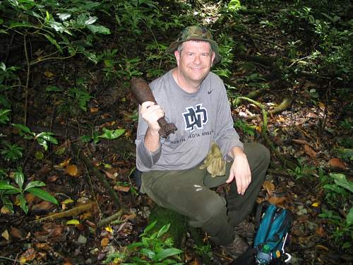 Click image for larger version.  Name:Japanese 81 mm mortar shell  IMG_3912.jpg Views:14 Size:116.4 KB ID:528034