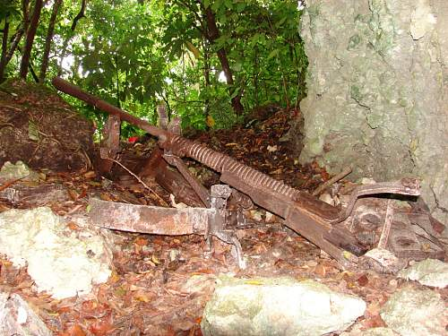 Click image for larger version.  Name:Japanese 37 mm gun in cave, DSC01173.jpg Views:18 Size:140.3 KB ID:528213