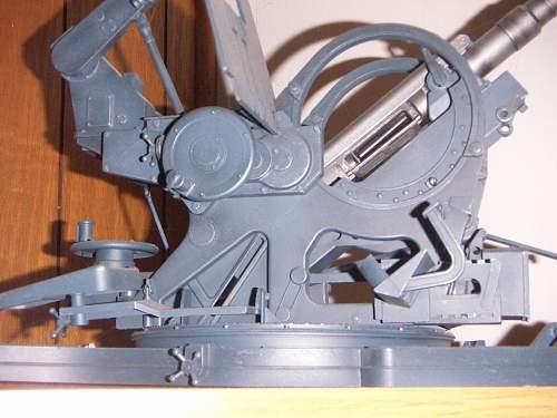 Some piece of heavy iron.