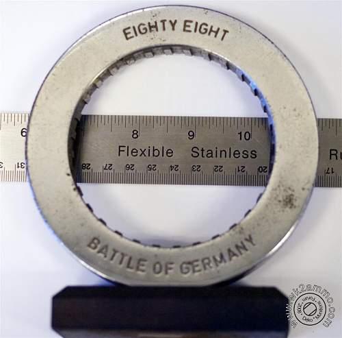 Interesting Relic: Slice of KongsTiger barrel