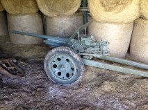 Interesting Find In An Open Barn