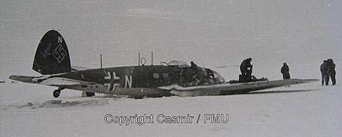 He 111 recovered in Norway