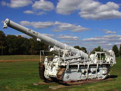 Dug up=Saint-Chamond 194mm GPF Gun