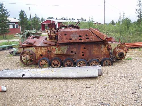 German Stug wreck recovered in Finland
