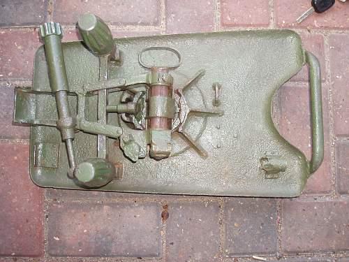 German 5cm Mortar ground find Finland