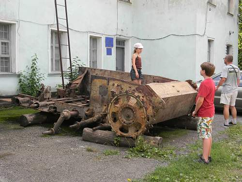 German Assault gun chassis