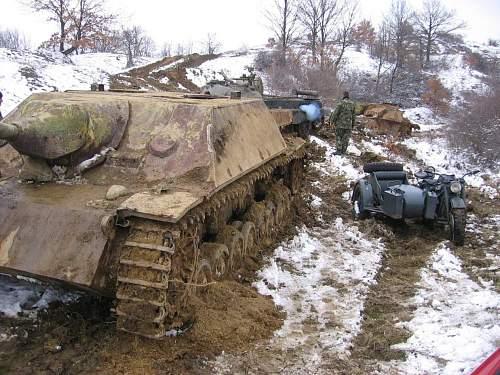 D T Tanks Pillboxes Bulgaria Recovered German Tank