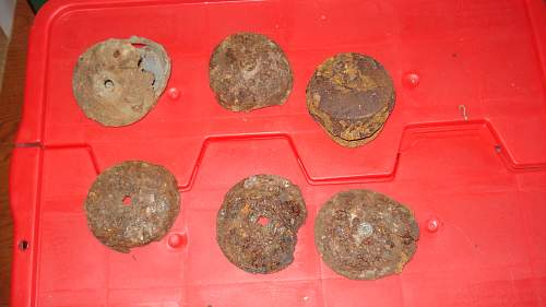 Some of My SOE OSS dug up bits