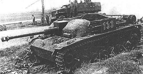 Concreet amour for tanks.