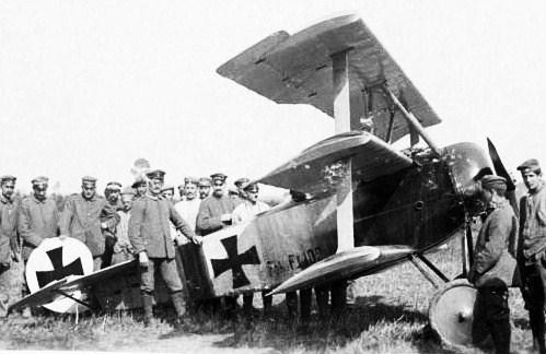 Ww1 german aircraft tail rudder