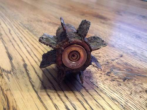 Relic mortar/grenade tail -- ID etc. needed---