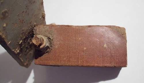 aircraft part with attached wood - part number 2SK16134