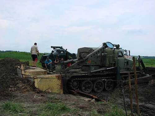 T34/76 found in Cherkass Oblast, Ukraine