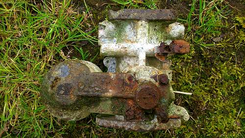 relics in barbed structure