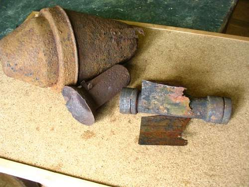 GROUND DUG panzerfaust 60 parts