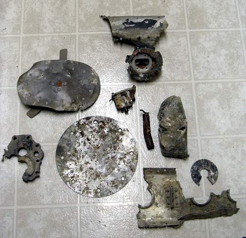 Me262A1a Parts