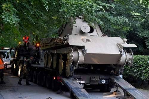 Panther Tank Recovered By Army