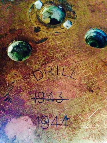 Royal Navy WW2 QF Dual Purpose 5.25 in Drill Shell Mk2