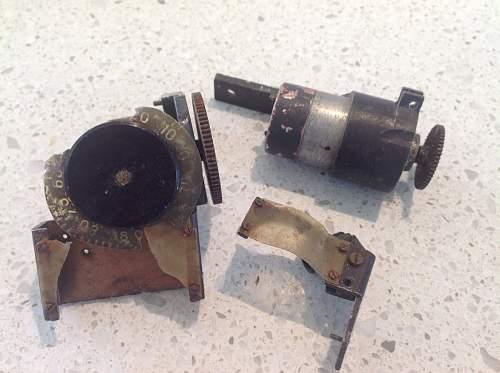 Luftwaffe aircraft parts