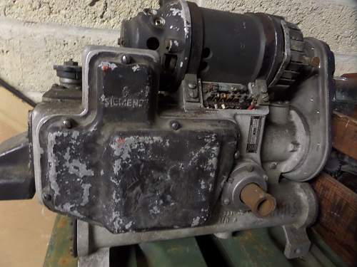 German JU88 Rudder machine