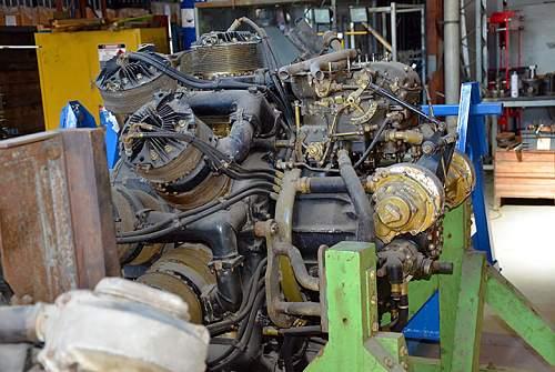 Bristol Hercules Engine Casing Fragment????