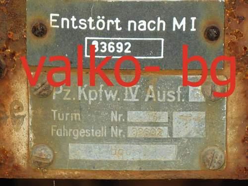 Bulgarian  panzer markers plate..jpg