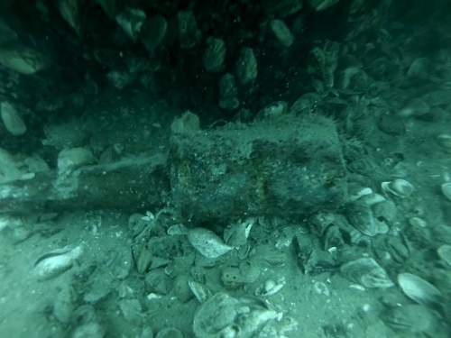 Found this in a lake while scuba diving