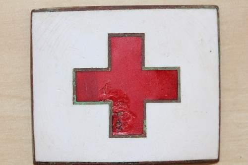 Field found mystery buckle/badge