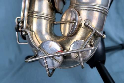 1939 dated Luftwaffe saxophone