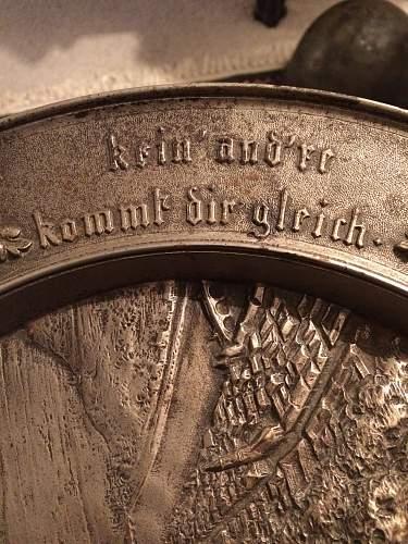 Help identifying era of Plate and translation