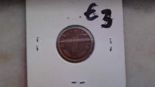 5 third reich coins