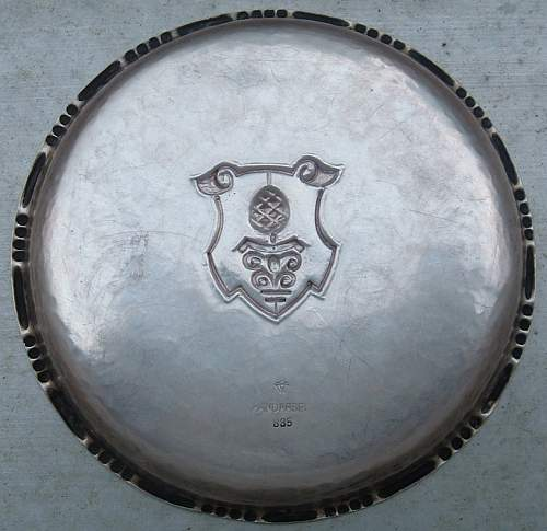 Artillery 27 Regt. Decorative Ash Tray