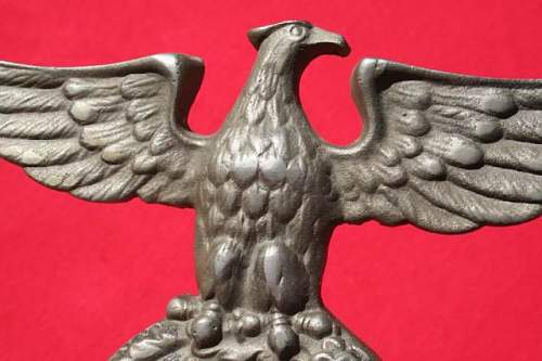 Need Help Identifying This Eagle: SA/NSDAP? Authentic?