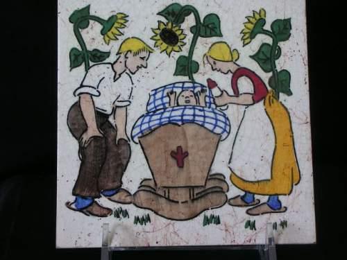 Volkisch Art Wall Tile