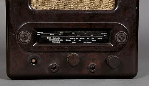 Joseph Goebbels' People's Radio VE-301 Dyn