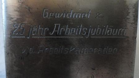 Nazi Germany Desk Eagle w/ Swatstika (Heer?)