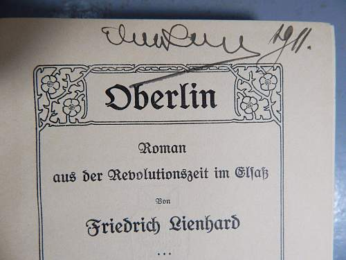 Hermann Goring - A book from a personal library