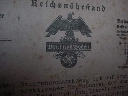 German tool chest,marked Heil Hitler!