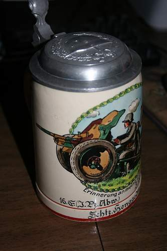 Is this an period Heer bier stein?