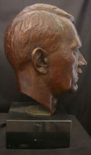 Adolf hitler bust for review